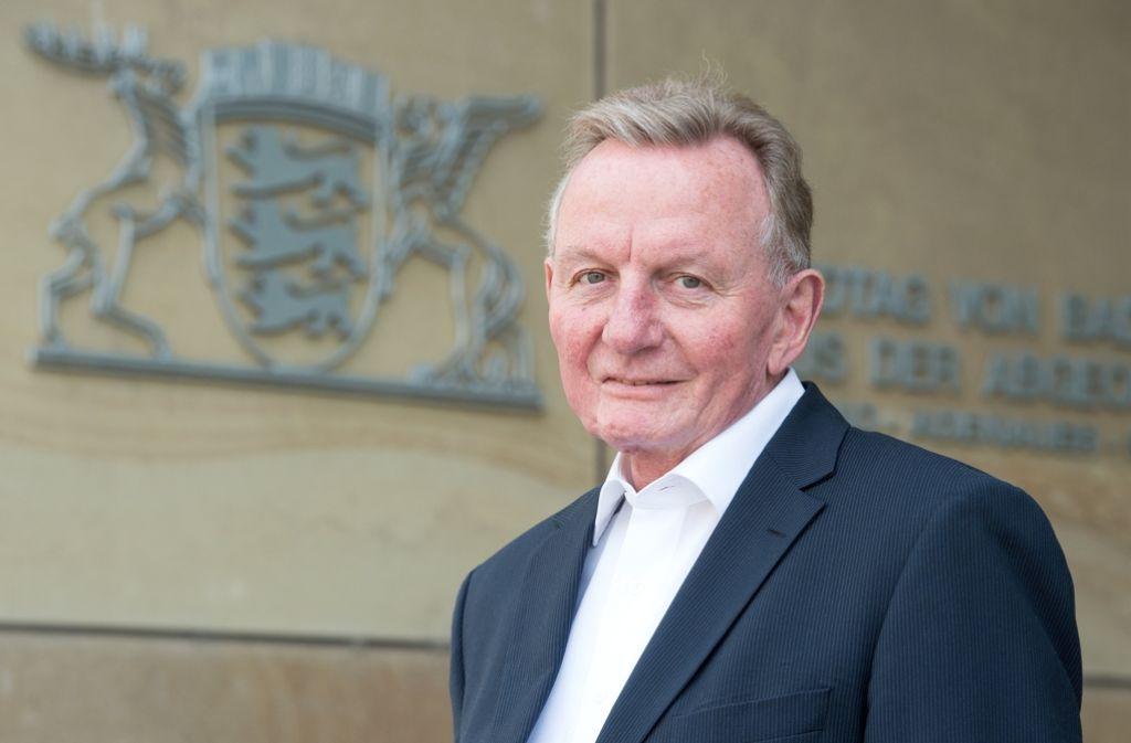 Claus Schmiedel (SPD) wird im neuen Landtag von Baden-Württemberg nicht mehr vertreten sein. Foto: dpa