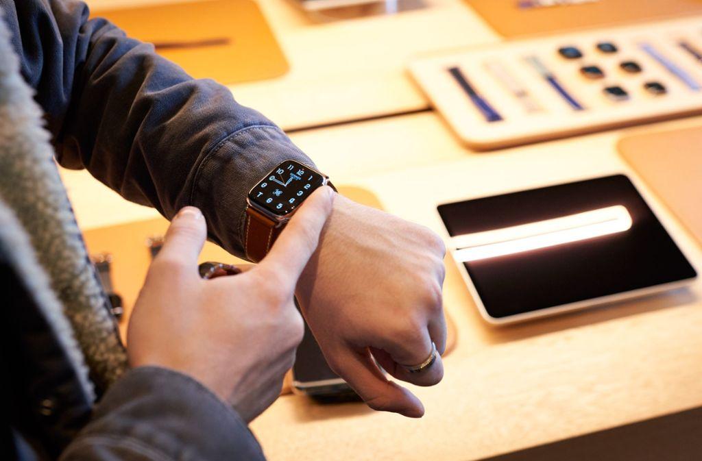 Viele Funktionen in einem: die Apple Watch Foto: Apple