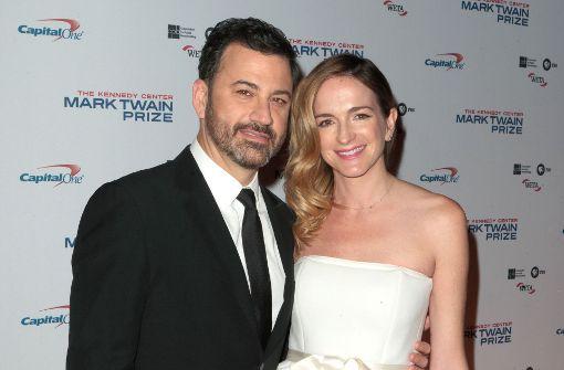 Jimmy Kimmel freut sich auf sein zweites Baby