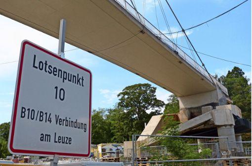 Neuer Rosensteintunnel im Zeitplan