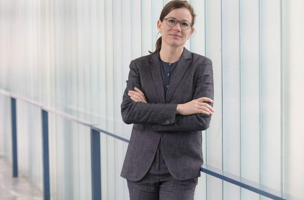 Barbara Bader möchte die Kunstakademie durchmischen – in jeder Hinsicht. Foto: Martin Lutz