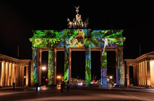 Diese Lichtinszenierungen beeindrucken derzeit in Berlin