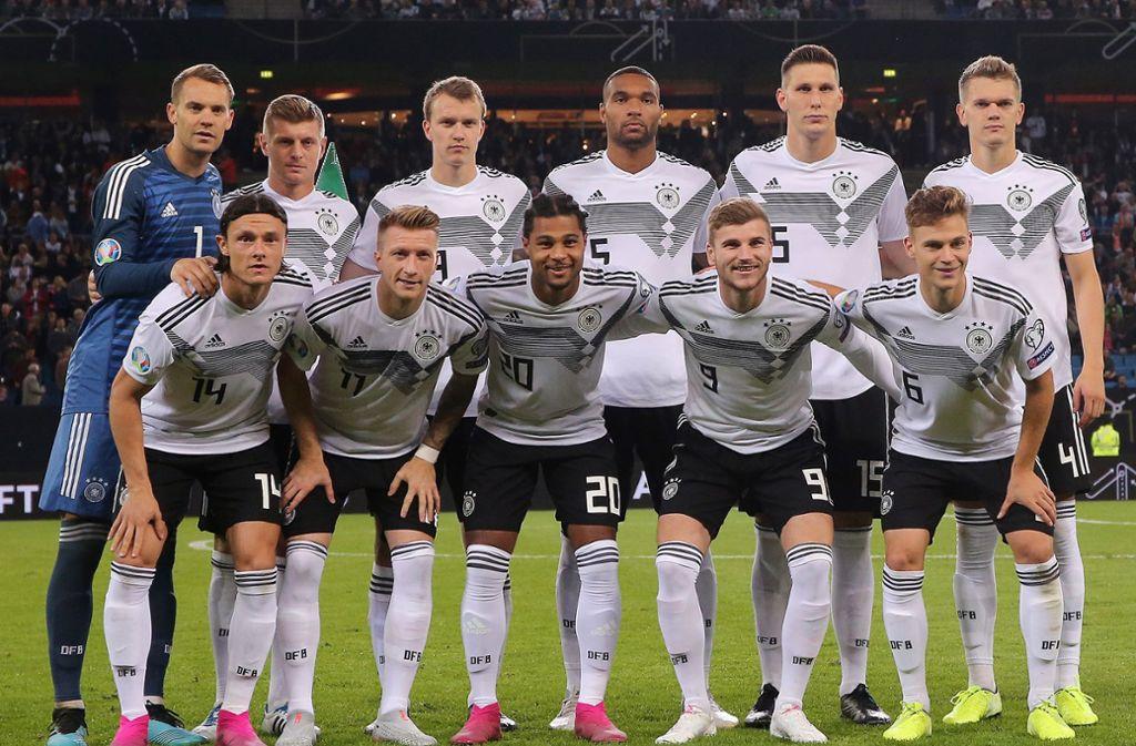 Die DFB-Elf befindet sich in Lostopf 2. Foto: Pressefoto Baumann/Julia Rahn