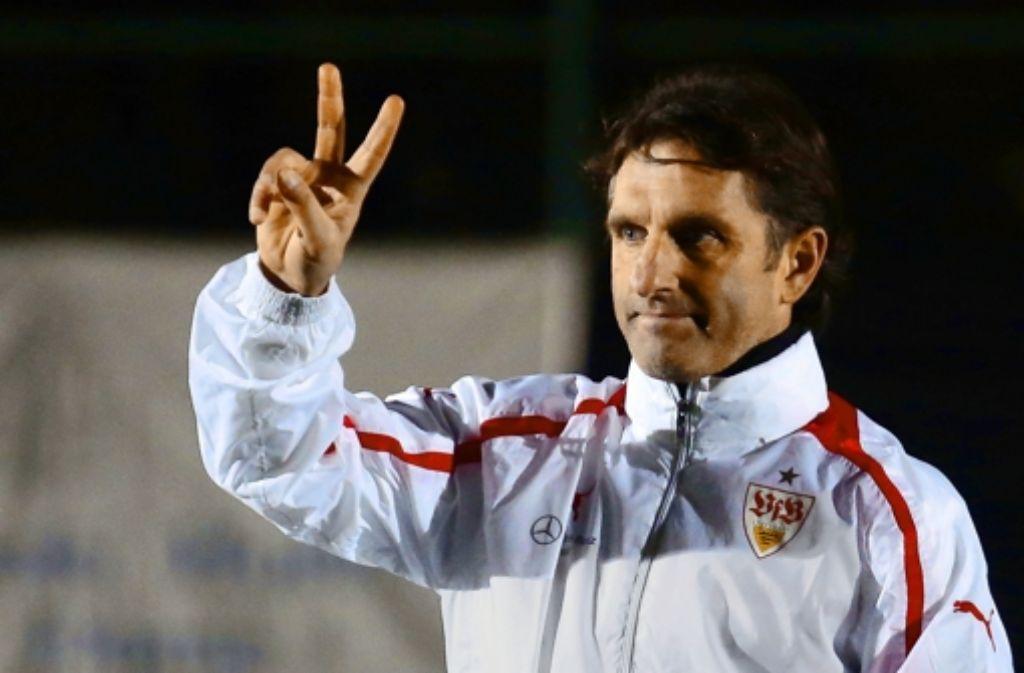 Bruno Labbadia verlängert beim VfB um zwei Jahre. Foto: Baumann