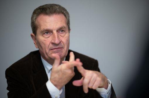 Ex-EU-Kommissar  für Armin Laschet als Kanzlerkandidat