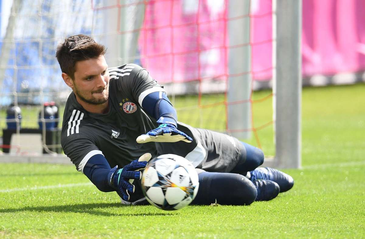 Bayern-Keeper Sven Ulreich steht im Fokus des HSV. Foto: dpa/Andreas Gebert