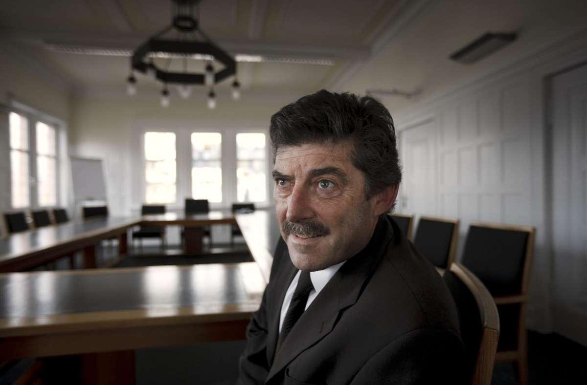 Andreas Schaffer, dienstältester Bürgermeister im Rems-Murr-Kreis, will überraschend in den Ruhestand gehen. Foto: Gottfried Stoppel/Archiv