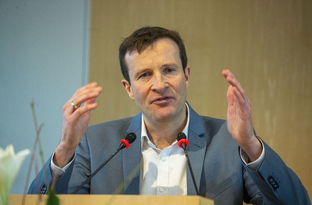 Martin Körner, SPD-Frakionsvorsitzender, will als OB-Kandidat antreten. Foto: Lichtgut/Leif Piechowski