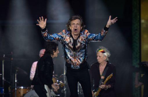 Mick Jagger und Co. geben sich aufmüpfig