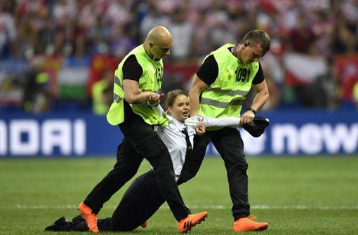 Zwei Wochen Haft nach Flitzeraktion bei WM-Finale