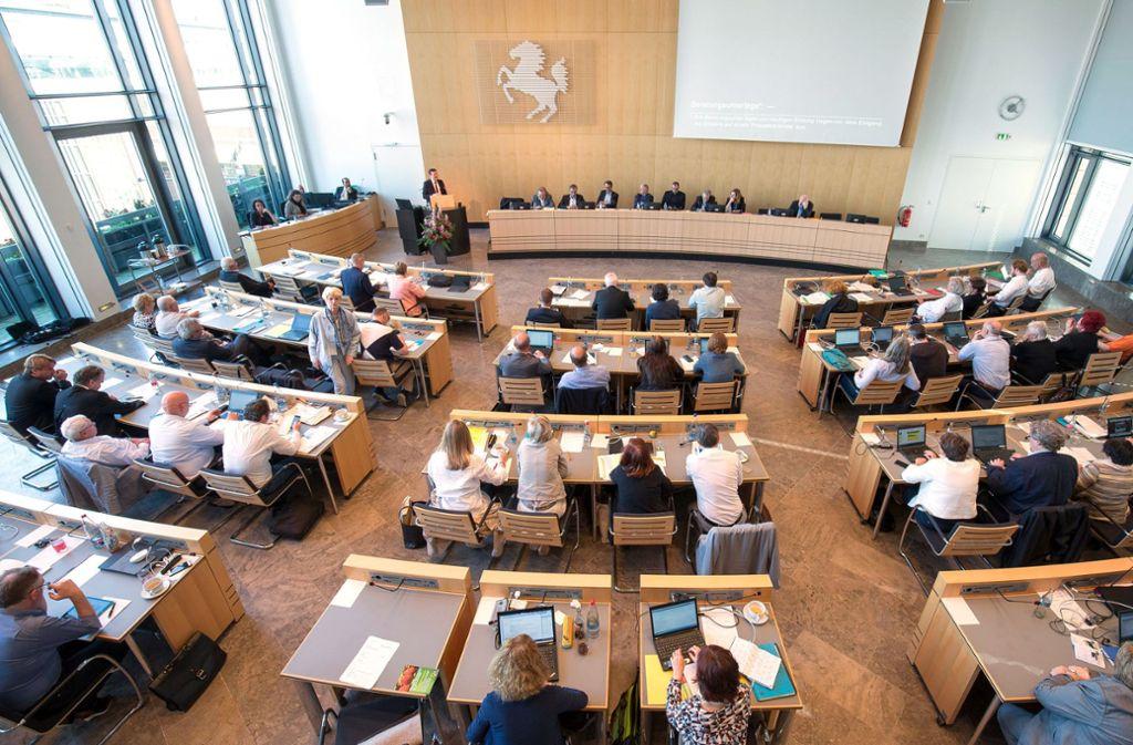 60 Sitze hat der Stuttgarter Gemeinderat. Foto: Stadt Stuttgart