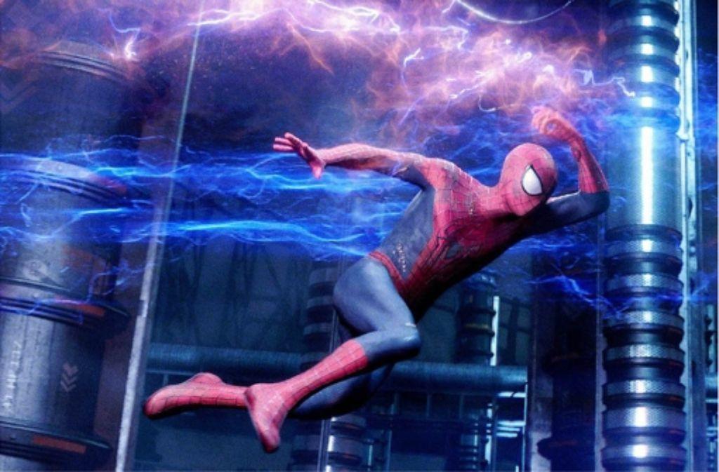 Spider-Man bekommt es diesmal mit einer individualisierten Variante der Energiewende zu tun: ein Superschurke entwickelt Elektrokräfte. Foto: Sony