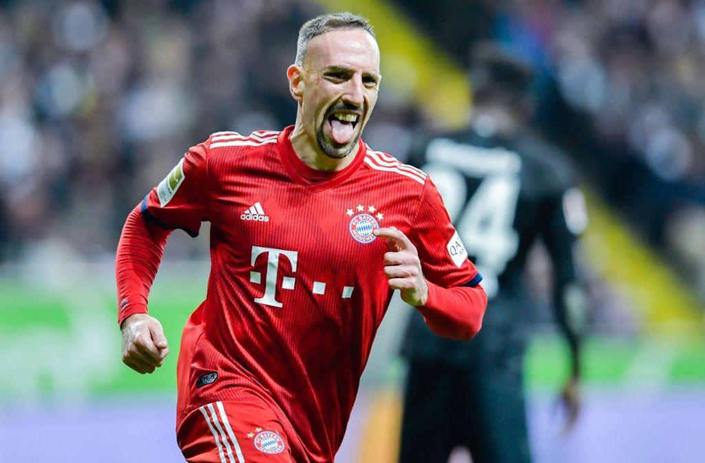 Franck Ribéry macht derzeit mit Pöbeleien auf Twitter von sich Reden. Foto: dpa