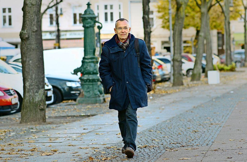 Als Dieter Funk in den 80ern nach Berlin kam, blühte in der Potsdamer Straße nichts außer dem Drogenhandel. Heute gilt die Gegend als hip. Foto: Maurizio Gambarini