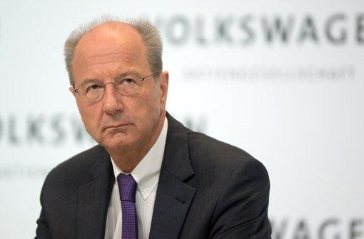 Finanzchef Pötsch wird neuer  Aufsichtsratschef