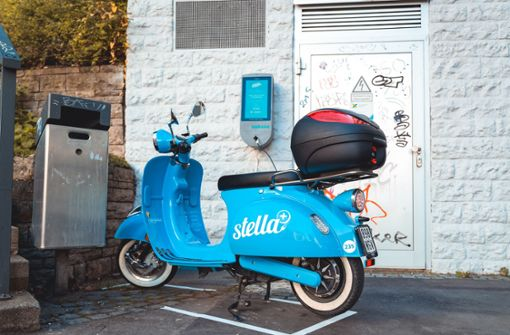 Stella-Roller in Stuttgart starten Pilotprojekt mit Ladeboxen