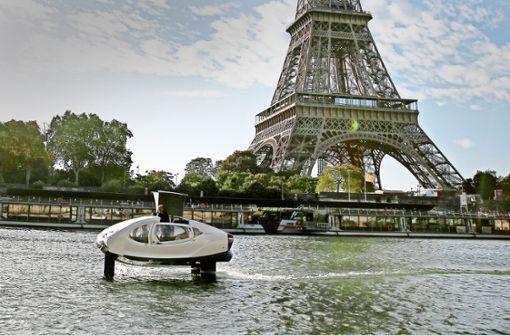 Im fliegenden Taxi über die Seine