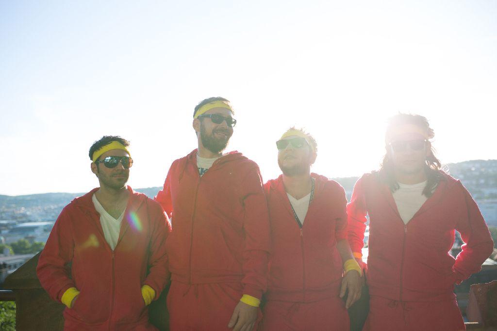 Die Band Kill Valmer aus Stuttgart hat ein neues Album draußen. Am Freitag stellt sie es im Goldmarks vor. Foto: Promo