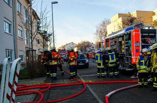 Zwei Verletzte bei Brand in Tiefgarage