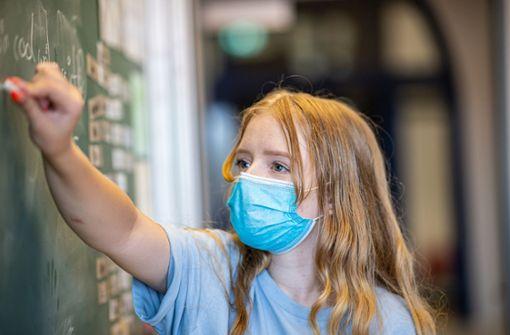 Nur in Stuttgart gilt Maskenpflicht   im Unterricht