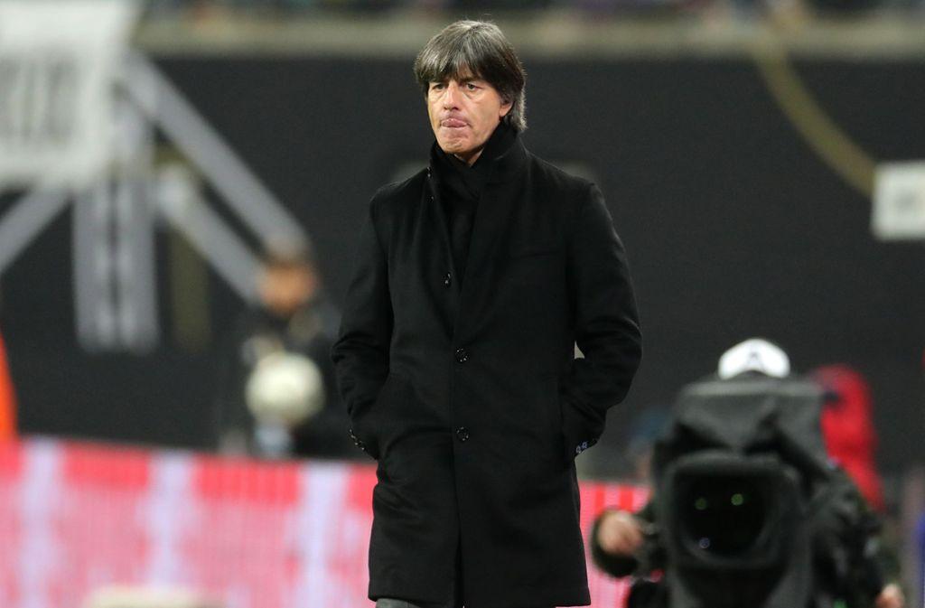 Joachim Löw steht mit dem DFB-Team in der UEFA Nations League unter Druck. Foto: dpa