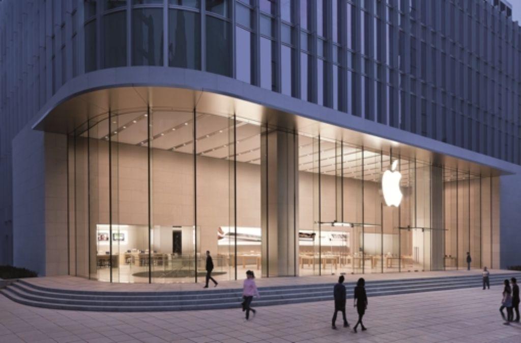 in der region k nnte ein apple store er ffnen stuttgarter zeitung. Black Bedroom Furniture Sets. Home Design Ideas