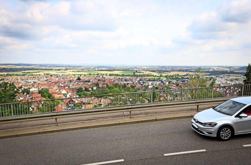 Die Panoramastraße in Gerlingen hat auch in dem 282 Seiten umfassenden Kriminalroman ihren Platz. Foto: factum/