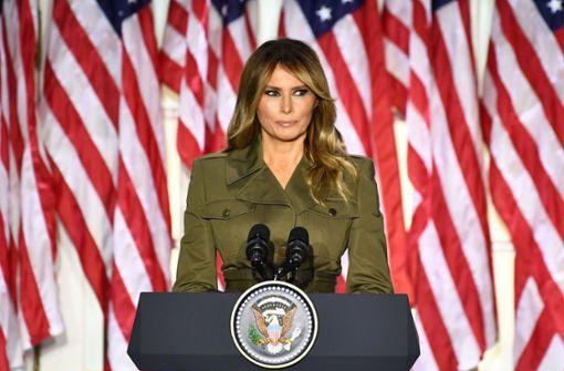 Pflichtbewusste First Lady