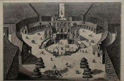 Wie Schloss und Ludwigsburg auf dem Reißbrett entstanden sind