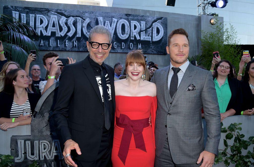 Jurassic World: Das gefallene Königreich feierte in Los Angeles seine Premiere. Foto: GETTY IMAGES NORTH AMERICA