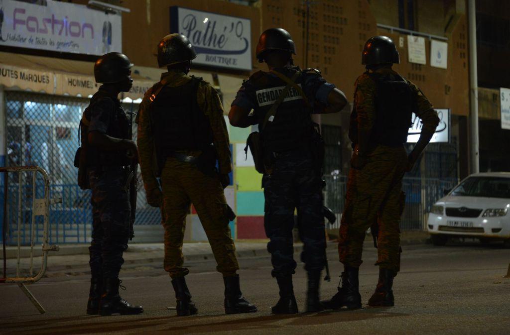 Bei dem Anschlag sind mindestens 18 Menschen getötet worden. Foto: AFP
