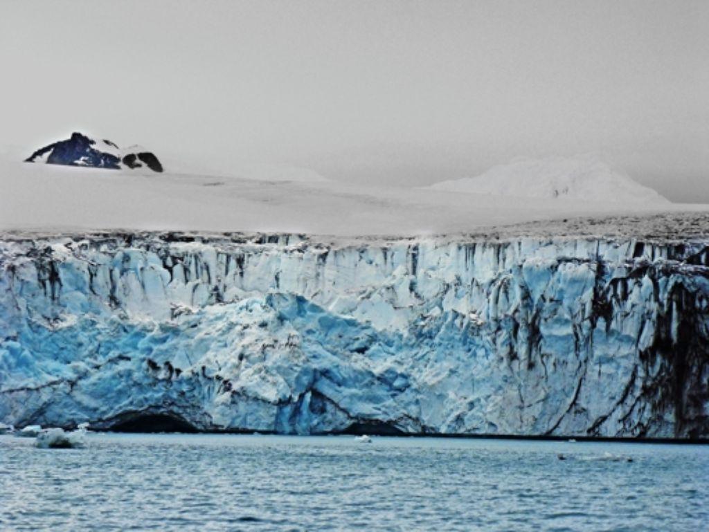 An der Antarktischen Halbinsel beschleunigt sich die Gletscherschmelze. Foto: Science