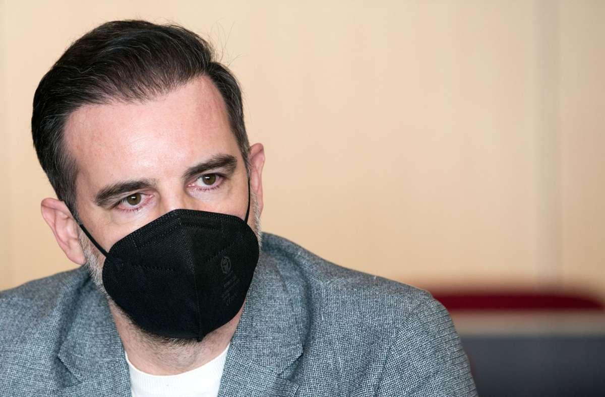 Christoph Metzelder räumte ein Teil der Anklage zu Prozessbeginn ein. Foto: dpa/Federico Gambarini