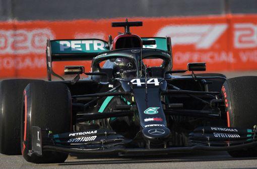 Lewis Hamilton auf Platz drei – Rekord vertagt