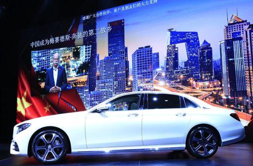 Absatz in China wächst zweistellig