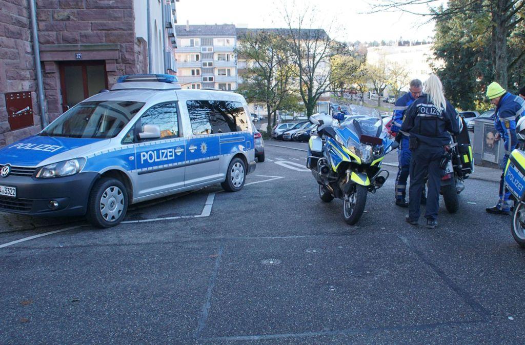 Der Polizeieinsatz an den Schulen in Pforzheim ist beendet. Foto: SDMG/Gress