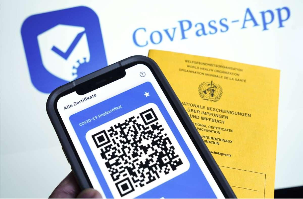 Kann man die CovPass-App auch im Ausland verwenden? Foto: www.imago-images.de