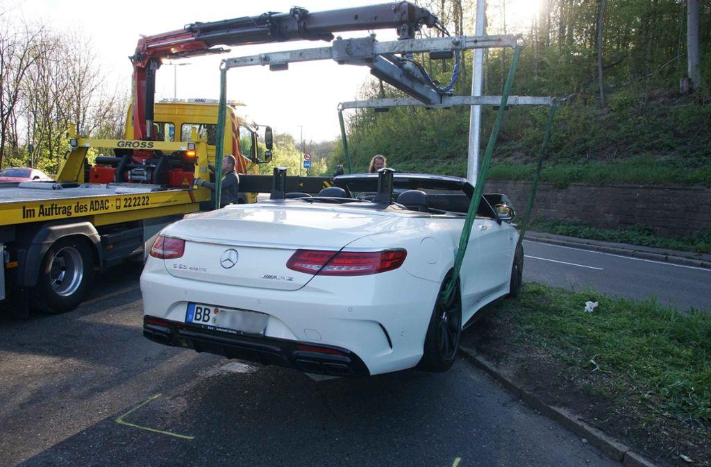 Wie die Beamten weiter mitteilten, beläuft sich der Schaden auf etwa 120.000 Euro. Foto: Andreas Rosar Fotoagentur-Stuttg
