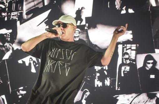 Ein Rapper zieht in den Kitschkrieg