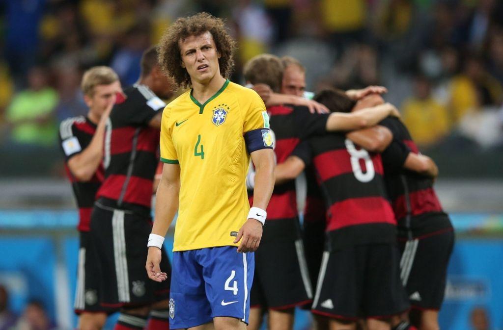 Trauriger Gastgeber: solche Gesichter hinterlässt die DFB-Elf recht häufig Foto: dpa
