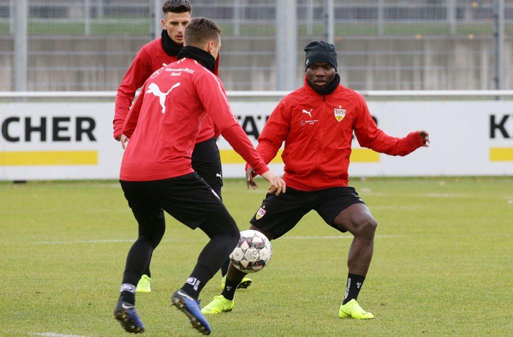 In Gladbach dürfte es für den VfB Stuttgart am Sonntag (18 Uhr) auch nicht gemütlicher werden. Foto: Pressefoto Baumann