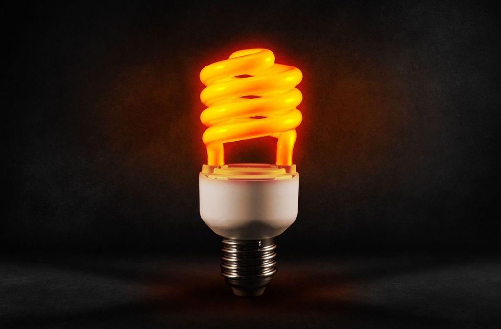 Quecksilber dient dazu die Glasbeschichtung in Lampen zum Leuchten zu bringen.  Foto: Pixabay