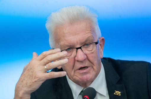 Kretschmann will Bürokratieabbau