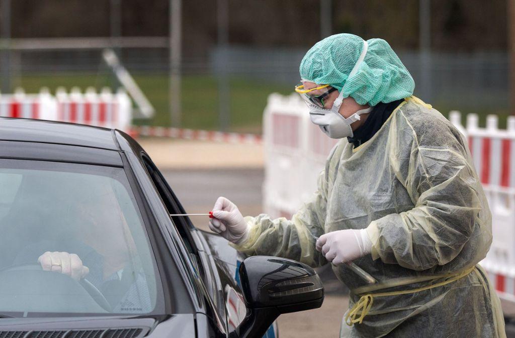 Neue Regeln gelten für Menschen, die sich bei einem der beiden  CAZ im Kreis Esslingen testen lassen wollen. Foto: Ines Rudel