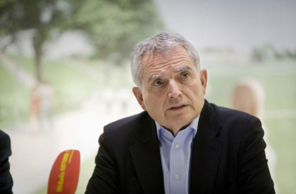Projektsprecher von Stuttgart 21: Wolfgang Dietrich. Foto: Steinert