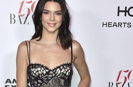 Kendall Jenner zeigt sich freizügig