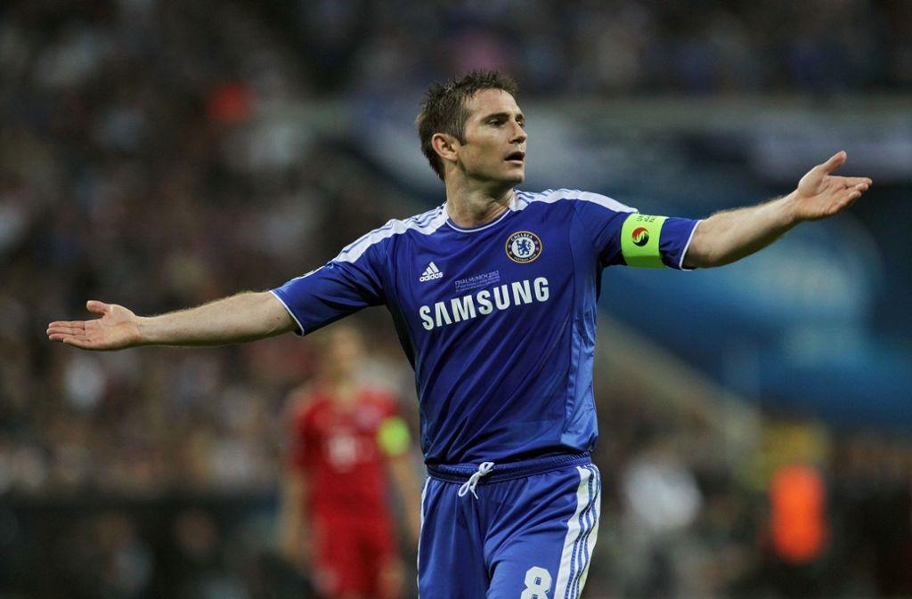 14 Jahre lang spielte Lampard für den FC Chelsea und trug viele Jahre auch die Kapitänsbinde. Foto: Avanti