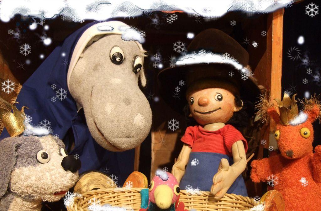 Bald ist es wieder soweit: Der kleine König feiert im Puppentheater Weihnachten. Foto: Stadt Fellbach