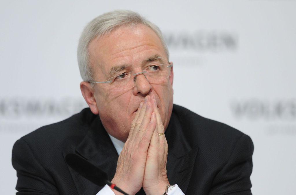 Ex-VW-Chef Martin Winterkorn: Wann wusste er was von Abgas-Manipulationen? Foto: dpa