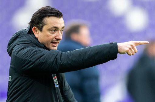"""Erzgebirge Aue beurlaubt """"vorerst"""" Trainer Meyer"""